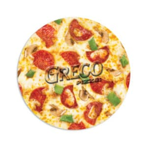 Round Pizza Mouse Pad