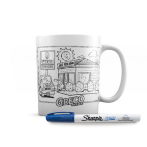 Cartoon Version of the Mug